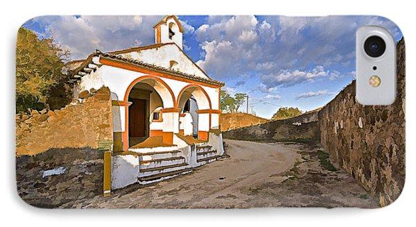 Chapel Of Castelo De Vide Phone Case by David Letts