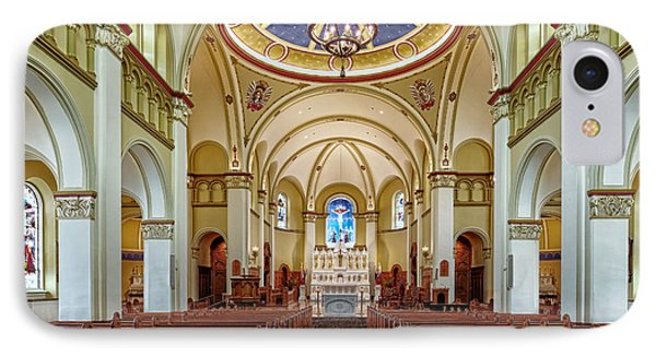 IPhone Case featuring the photograph Chapel Of The Immaculate Conception by Jim Thompson