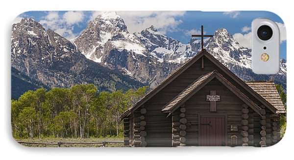Chapel Of The Transfiguration - Grand Teton National Park Wyoming IPhone Case