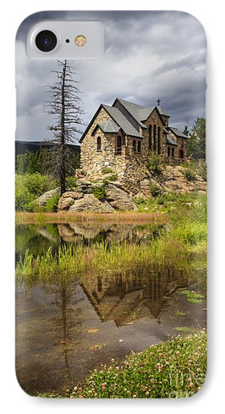 Chapel On The Rock IPhone Case by Dennis Hedberg