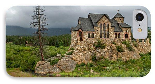 Chapel On The Rock - II IPhone Case by Jeff Stoddart