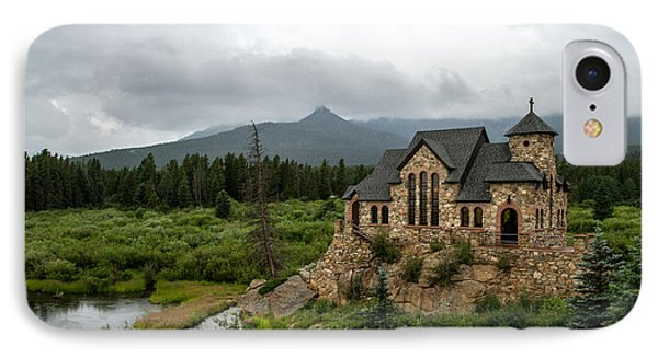 Chapel On The Rock IPhone Case by Jeff Stoddart