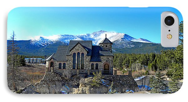 Chapel On The Rock IPhone Case by Julie Palencia