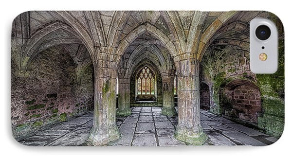 Chapter House Interior IPhone Case by Adrian Evans