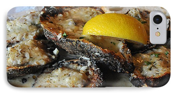 Chargrilled Oysters IPhone Case by Steve Archbold