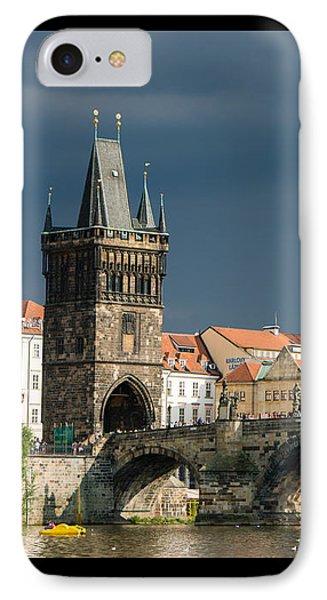 Charles Bridge Prague IPhone Case by Matthias Hauser