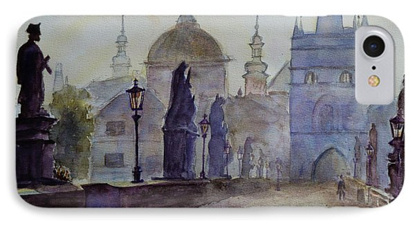 Charles Bridge Prague Phone Case by Xueling Zou