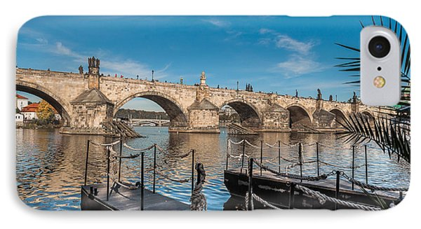 Charles Bridge IPhone Case by Sergey Simanovsky