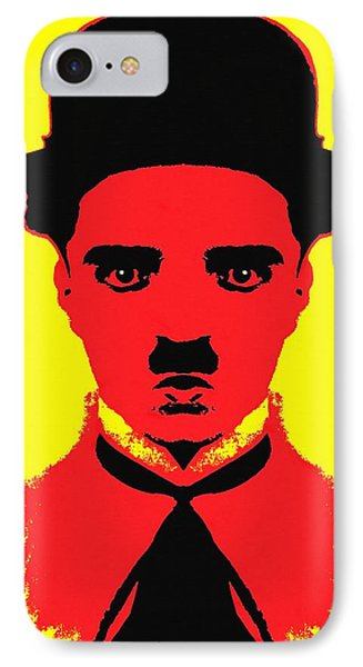 Charles Chaplin Charlot Alias IPhone Case