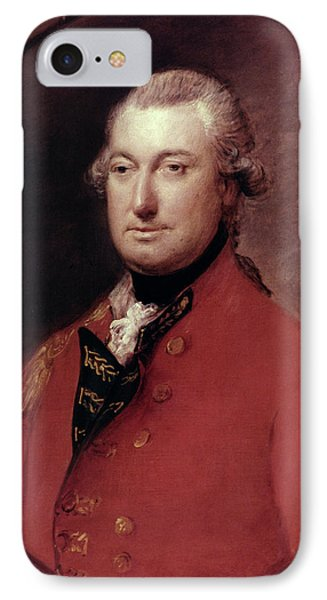 Charles Cornwallis (1738-1805) IPhone Case by Granger