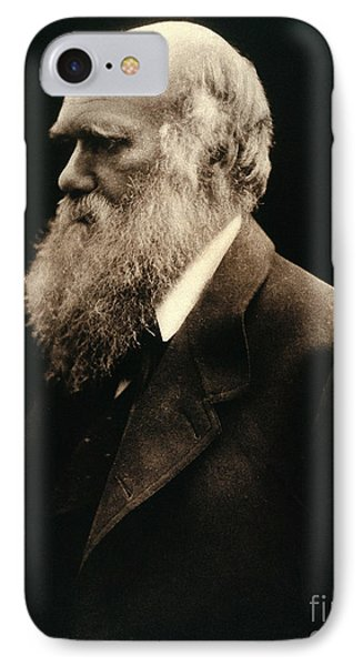 Charles Darwin By Julia Margaret Phone Case by Wellcome Images