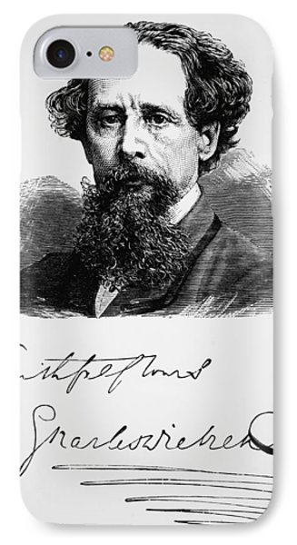 Charles Dickens IPhone Case by English School