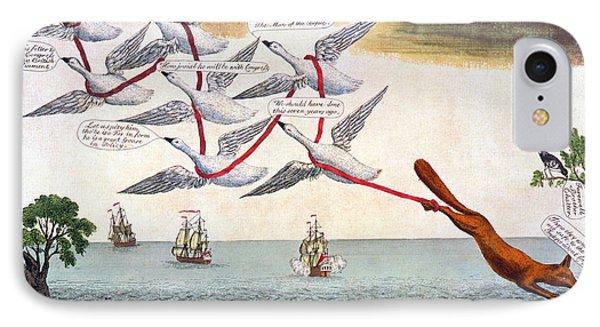 Charles Fox: Cartoon, 1782 Phone Case by Granger