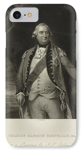 Charles Marquis Cornwallis IPhone Case