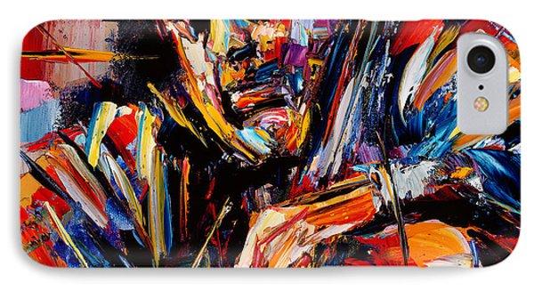 Charles Mingus Phone Case by Debra Hurd