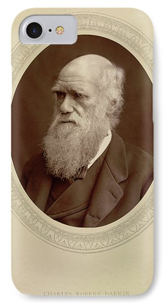Charles Robert Darwin IPhone Case by British Library