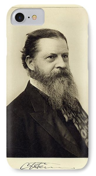 Charles Sanders Peirce IPhone Case by Miriam And Ira D. Wallach Division Of Art, Prints And Photographs/new York Public Library