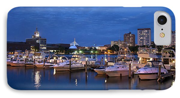 Charlesgate Yacht Club - Boston  IPhone Case by Joann Vitali