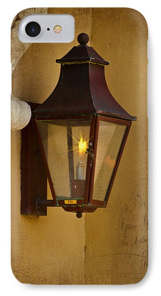Charleston Carriage Light IPhone Case by Bill Barber