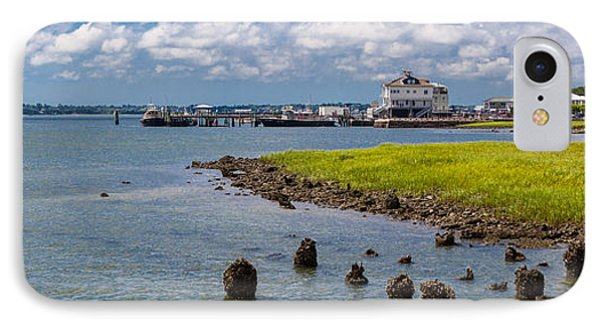 IPhone Case featuring the photograph Charleston Harbor by Sennie Pierson