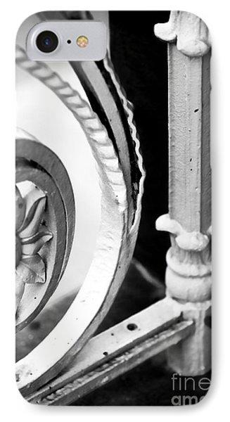 Charleston Iron Works Phone Case by John Rizzuto