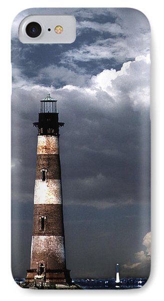Charleston Lights IPhone Case by Skip Willits