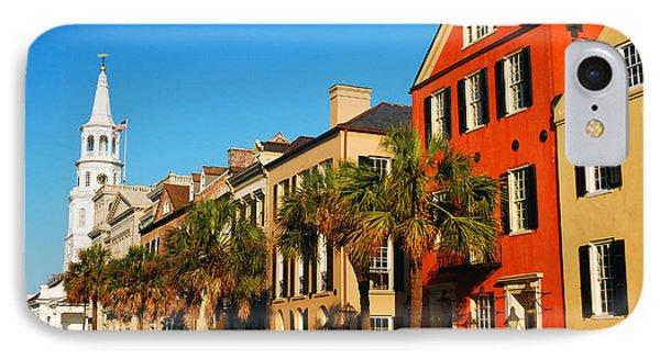 Charleston Painted Row IPhone Case