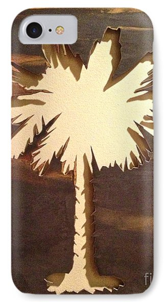 Charleston Palmetto IPhone Case by M West