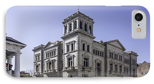 Charleston Post Office And Courthouse Phone Case by Lynn Palmer