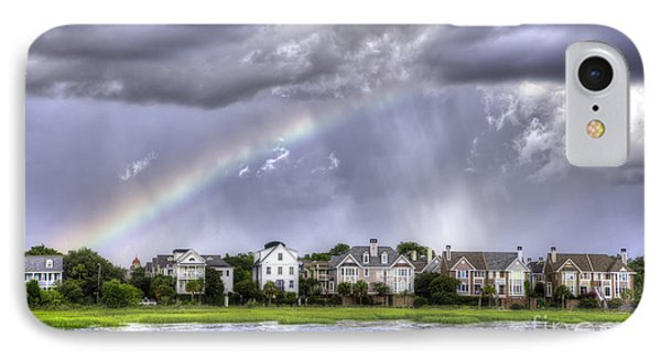 Charleston Rainbow Homes Phone Case by Dustin K Ryan