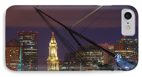 Charlestown Navy Yard And The Custom House IPhone Case