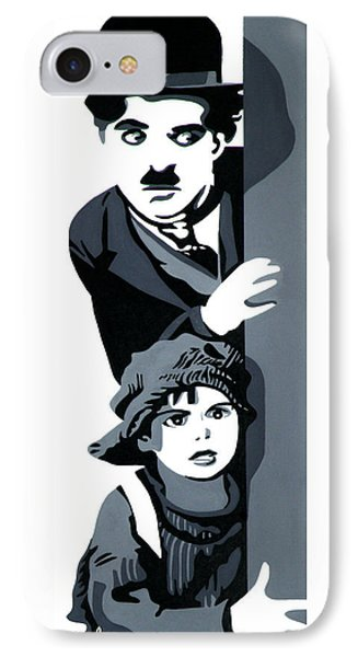 Charlie And The Kid IPhone Case