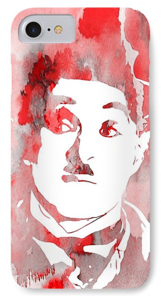 Charlie Chaplin Red IPhone Case