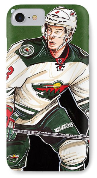 Charlie Coyle Of The Minnesota Wild IPhone Case
