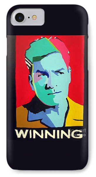 Charlie Sheen Winning Phone Case by Venus