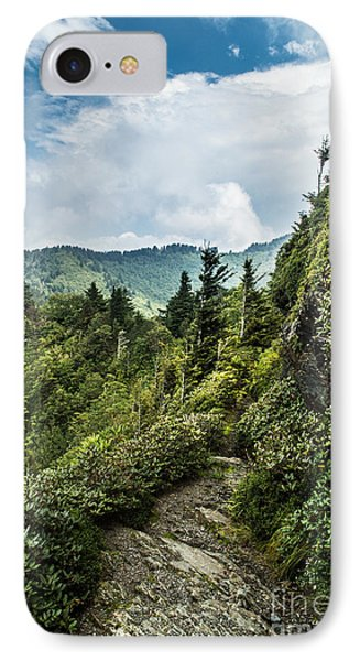 IPhone Case featuring the photograph Charlies Bunion Trail by Debbie Green