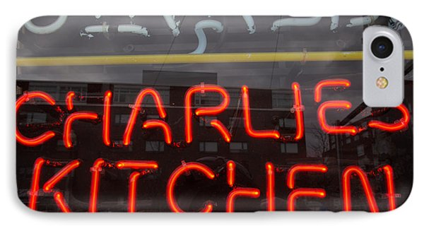 Charlies Kitchen IPhone Case