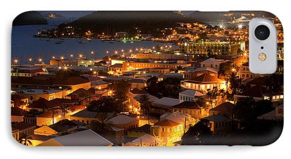 Charlotte Amalie St Thomas Usvi Phone Case by Susan  Degginger
