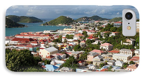 Charlotte Amalie Phone Case by Susan  Degginger
