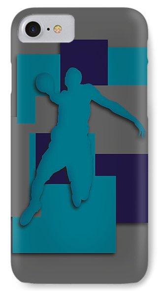 Charlotte Hornets Art IPhone Case by Joe Hamilton