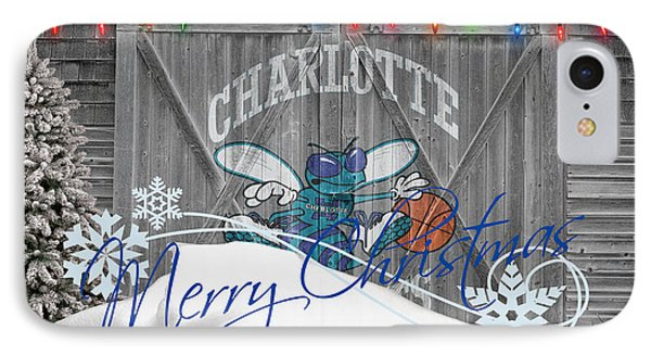 Charlotte Hornets IPhone Case by Joe Hamilton