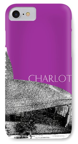 Charlotte Nascar Hall Of Fame - Plum North Carolina IPhone Case