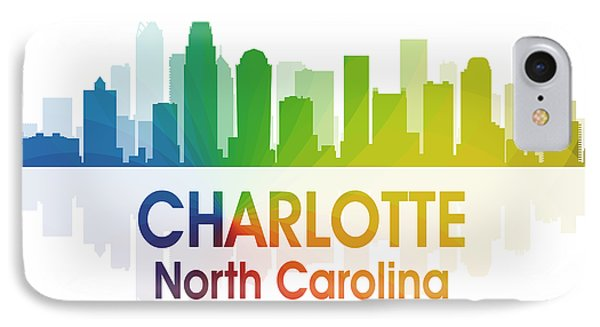 Charlotte Nc 1 Squared IPhone Case