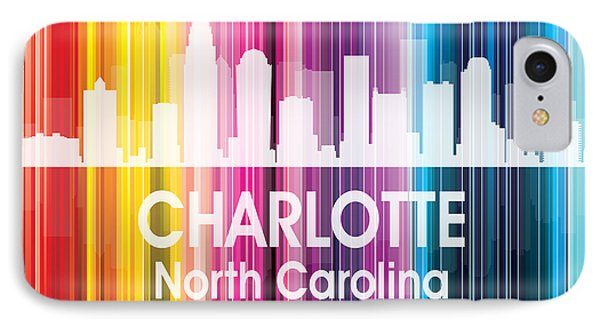 Charlotte Nc 2 Squared IPhone Case