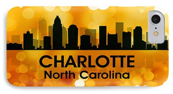 Charlotte Nc 3 Phone Case by Angelina Vick