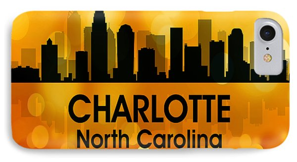 Charlotte Nc 3 Squared IPhone Case