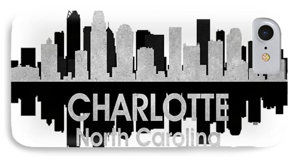 Charlotte Nc 4 Squared IPhone Case