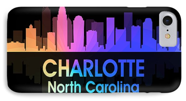 Charlotte Nc 5 Squared IPhone Case