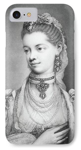 Charlotte Sophia IPhone Case by Thomas Frye
