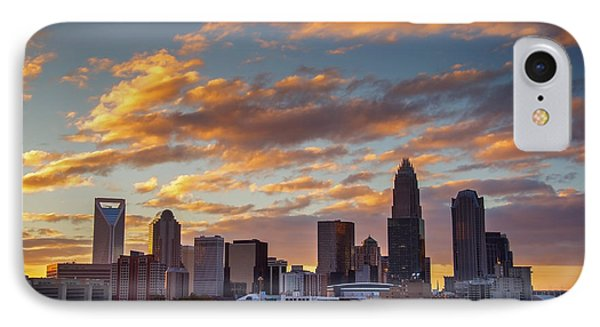 IPhone Case featuring the photograph Charlotte Sunset by Serge Skiba